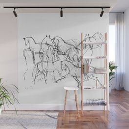 Horses (Movement) Wall Mural