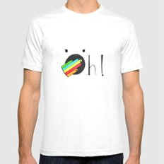 Oh! Mens Fitted Tee White MEDIUM