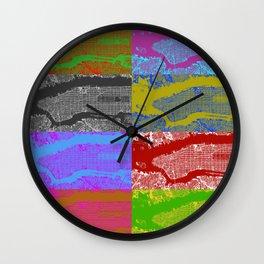 NYC 4x2 Wall Clock