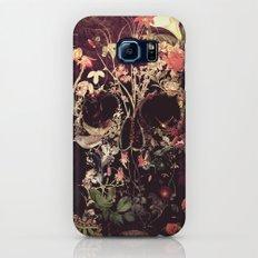 Bloom Skull Slim Case Galaxy S6