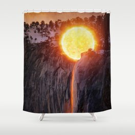 Sun Wash by GEN Z Shower Curtain