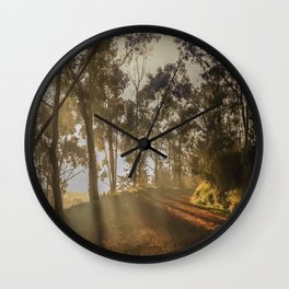 The firts light Wall Clock