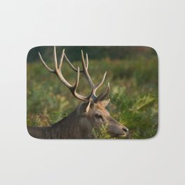 Stag In Morning Sunshine Bath Mat