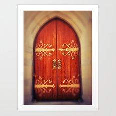 Heavenly Door Art Print