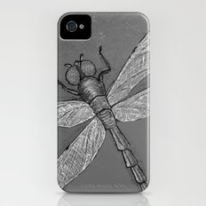 Petrified Dragonfly Slim Case iPhone (4, 4s)