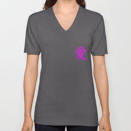 Chinesische Zeichen Liebe Peace Symbol Brusttasche design graphic Unisex V-Neck