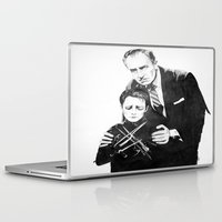 edward scissorhands Laptop & iPad Skins featuring Edward Scissorhands  by moomoney