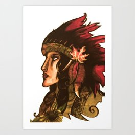 Honor Tradition Art Print