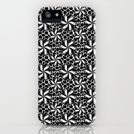 Floral Jitter iPhone Case