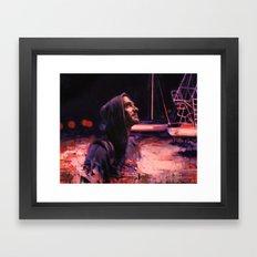 By night Framed Art Print
