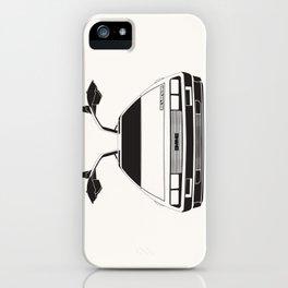 Delorean DMC 12 / Time machine / 1985 iPhone Case