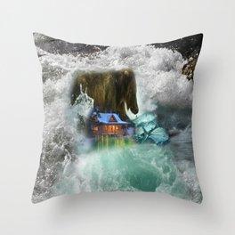 Bear Beyond Strength Throw Pillow