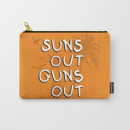 Suns Out Carry-All Pouch