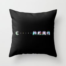 Pac Man Throw Pillow