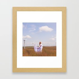 The Many Winged Escape Framed Art Print