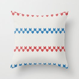 Pattern Pippi Throw Pillow