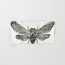 Summer Cicada – Black Palette Hand & Bath Towel