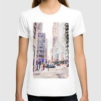 nyc T-shirts featuring NYC by Christine Workman