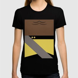 Worf - Minimalist Star Trek TNG The Next Generation - Enterprise 1701 D - startrek - Trektangles T-shirt