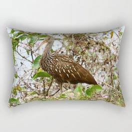 Limpkin In A Tree Rectangular Pillow
