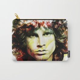 Jim in White Carry-All Pouch