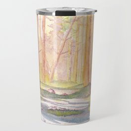 Down The Forest Path Travel Mug