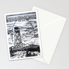 'Since 1892' Adirondack Art Decor, Adirondacks Mountains, Fire Tower Stationery Cards