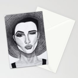 Kissy Winky Face Stationery Cards