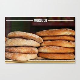 Moroccan Bread - Khobz Kesra, Morocco Canvas Print