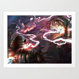 Fangs of the Heavens Art Print