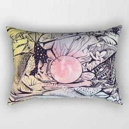 Zentangled alien world Rectangular Pillow