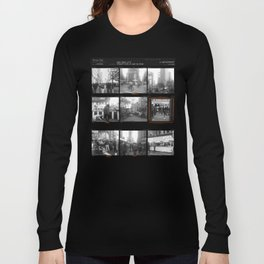 Street Fair, NYC / Contact Sheets Long Sleeve T-shirt
