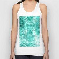 tie dye Tank Tops featuring Tie Dye  by Jenna Davis Designs
