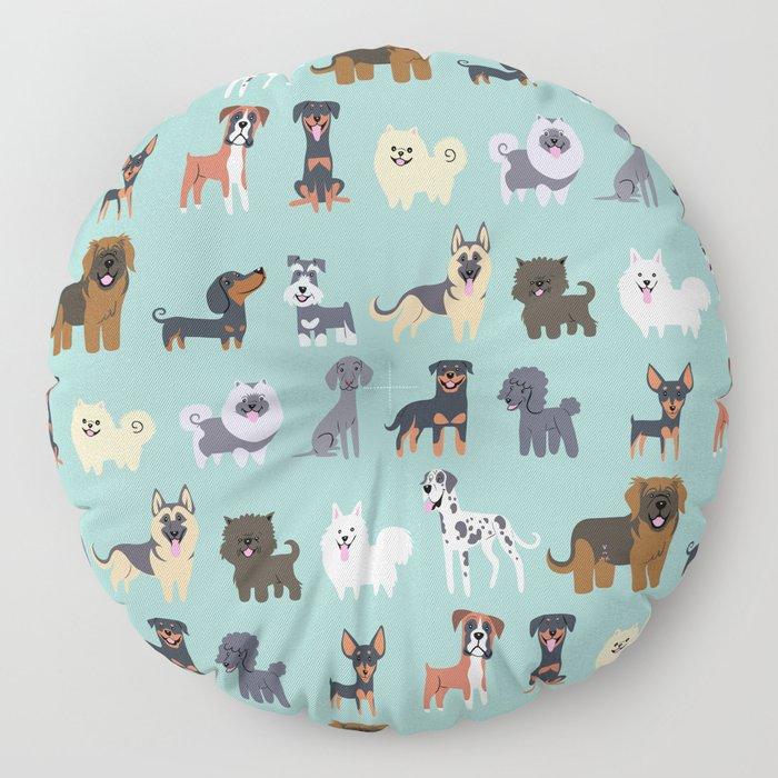 GERMAN DOGS Floor Pillow