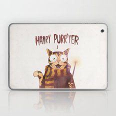 HAIRY PURR'TER Laptop & iPad Skin