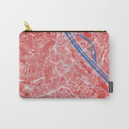 Vienna, Austria street map Carry-All Pouch