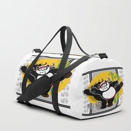 Martial Arts Panda Duffle Bag