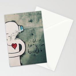 Listen To You Heart Stationery Cards