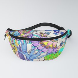 Mountain Abstract Fanny Pack