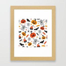 Cute Halloween Framed Art Print