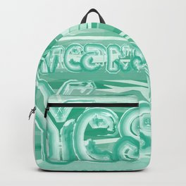 Yes means Yes - SB967 - Aqua Backpack