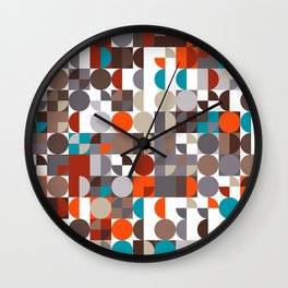 Grid #3 Wall Clock