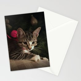 Molly in oils Stationery Cards