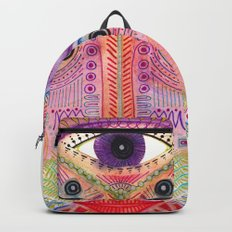 the all seing tranquility mask Backpack