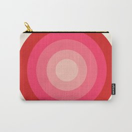 Keepin' on - 70's style retro vibes throwback minimal 1970s art decor gifts Carry-All Pouch