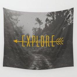 Explore (Arrow) Wall Tapestry