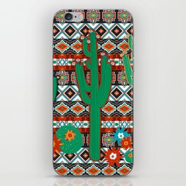 Southwest Cactus iPhone Skin