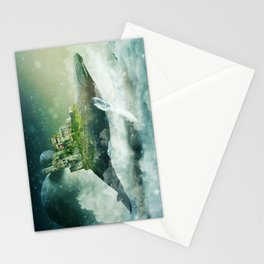 Flying kingdoms Stationery Cards