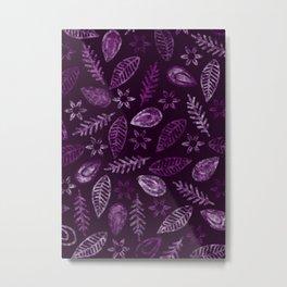 Floral #৪ Metal Print