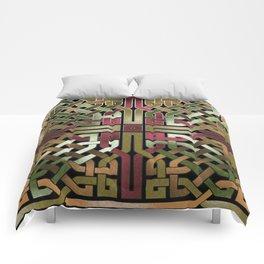 Earthtone Celtic Knot Comforters